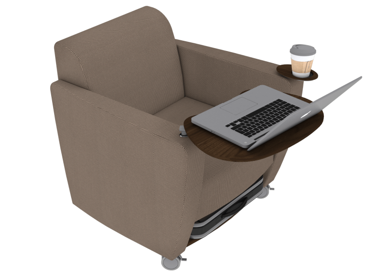 Dark Taupe Ole Chair - 3