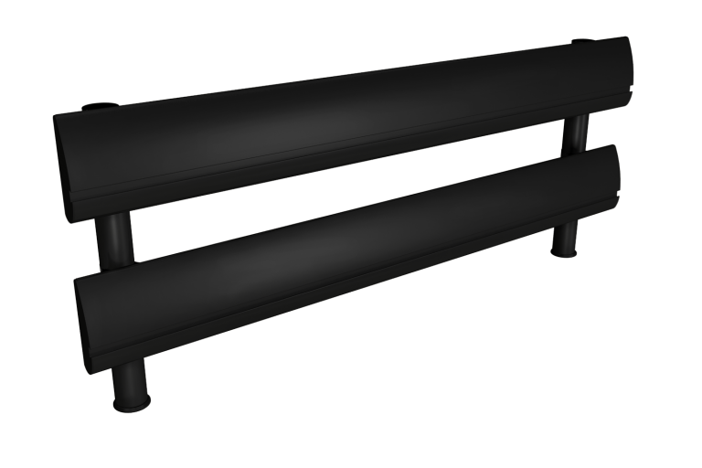 SpaceBeam I Two Tier - Black