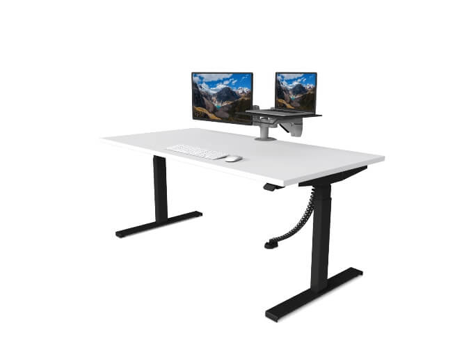 Synergie with double monitors
