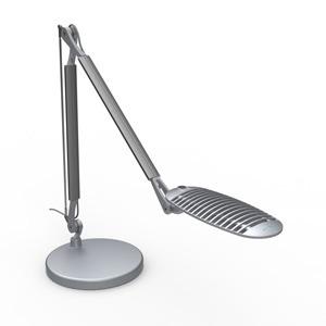 Wave light - Silver - Freestanding base