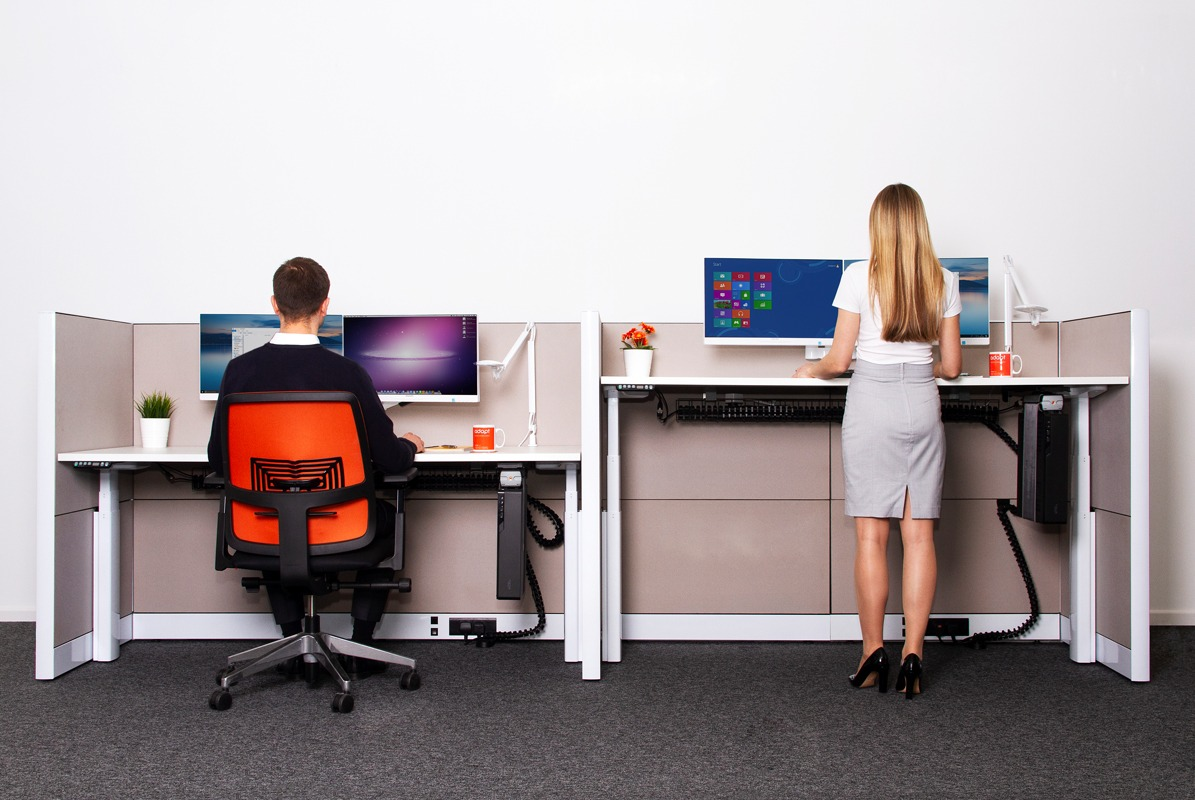 How Do You Move From A Fixed Height Desk To A Sit Stand Desk