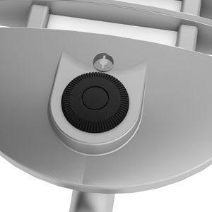 Close up of ambient sensor on the WAVE LED desk light