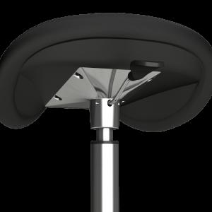 Ergonomic office Hi-Stool seating detail with adjustable handle