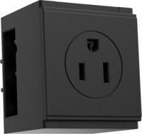 US socket on PDCM modular desk power outlet