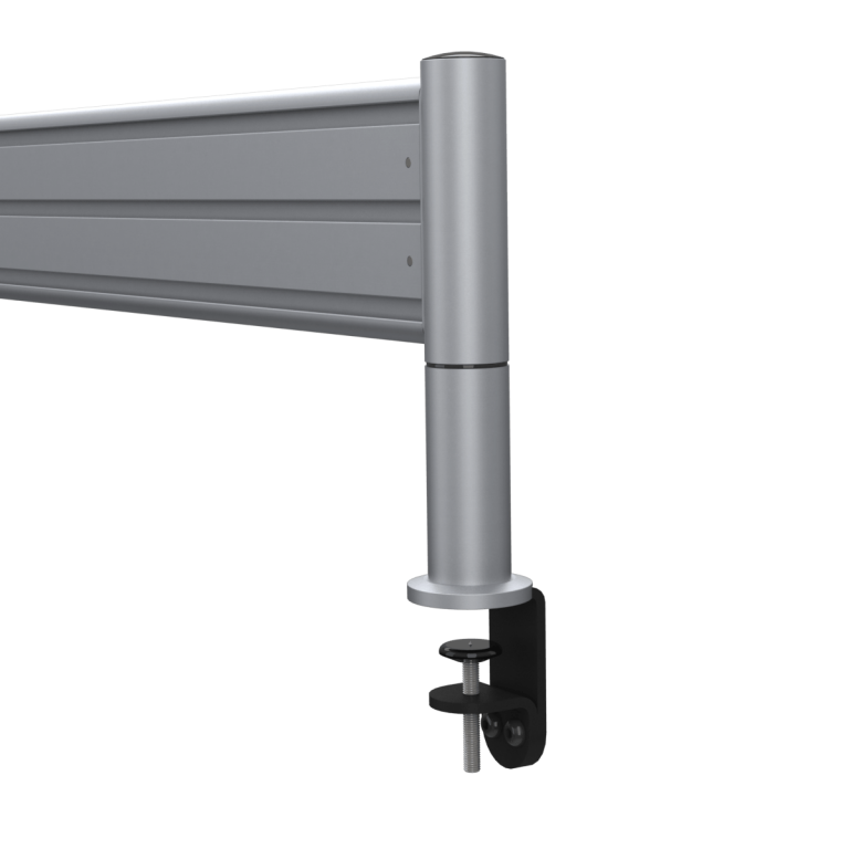 End piece showing fixing mount of the SpaceBeam tool rail