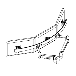 Multiple Monitor Arm-01
