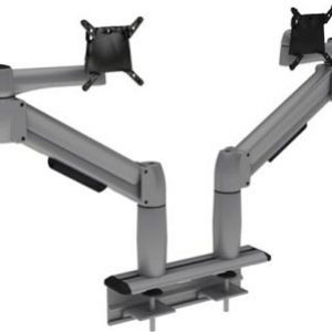 Multi-Flex with two platinum SpaceArm monitor arms
