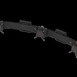 Multi-Mount with three quick release VESA mounts