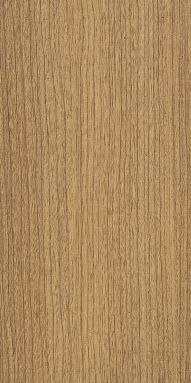 Cherry wood colour sample of acoustic wall cladding and ceiling planks