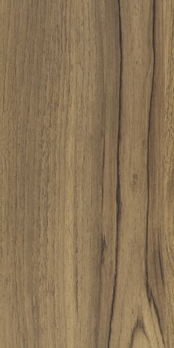 Walnut wood colour sample of acoustic wall cladding and ceiling planks