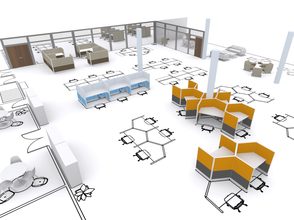 How To Create Working Zones In An Open Plan Office