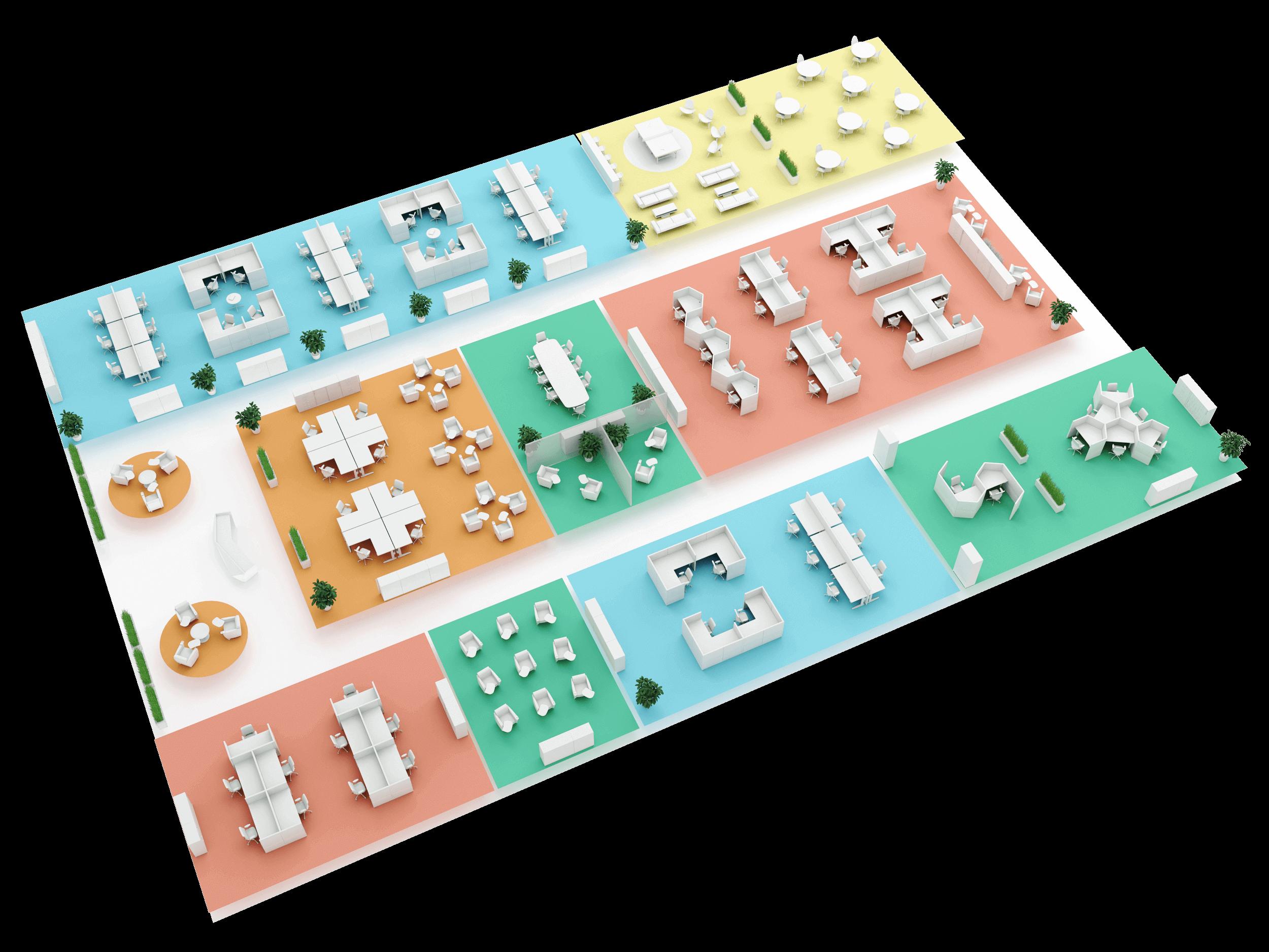Office Zone Floor Plan