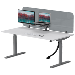 Synergie-desk-with-sneeze-guard-4