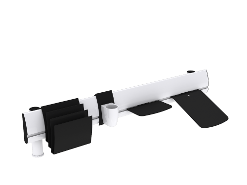 SpaceBeam I with Accessories - White web